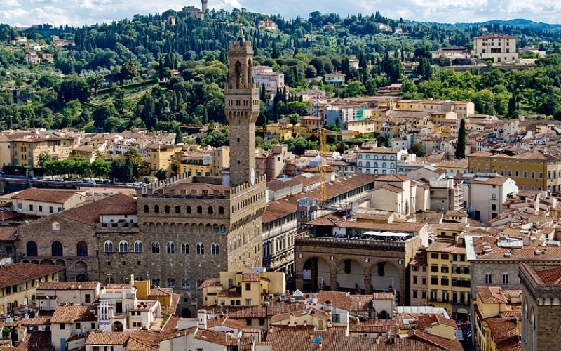 Florence from Above: Fiesole
