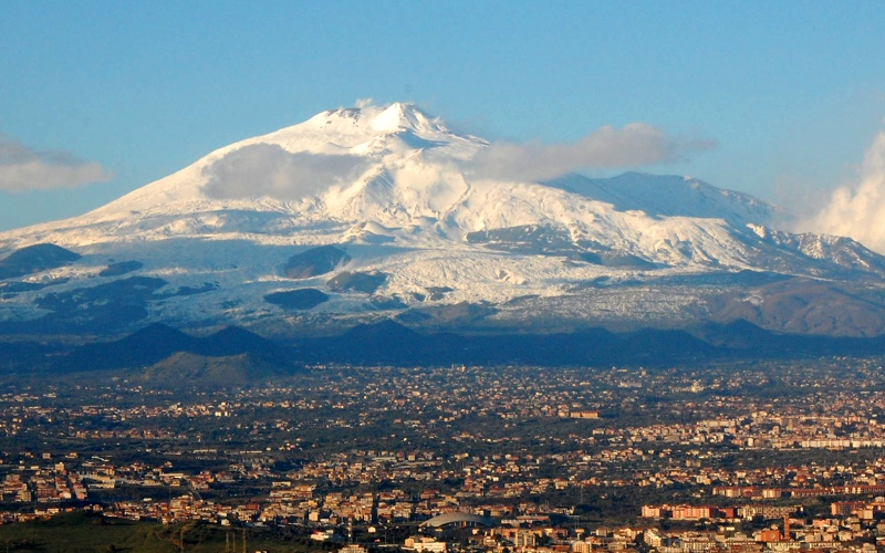Sea and lava: Sicily's volcanoes