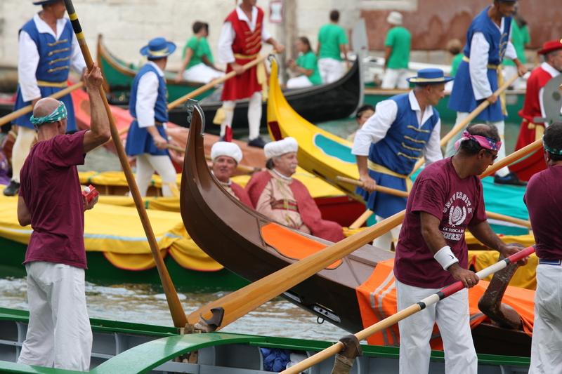 Venice Burano Regatta