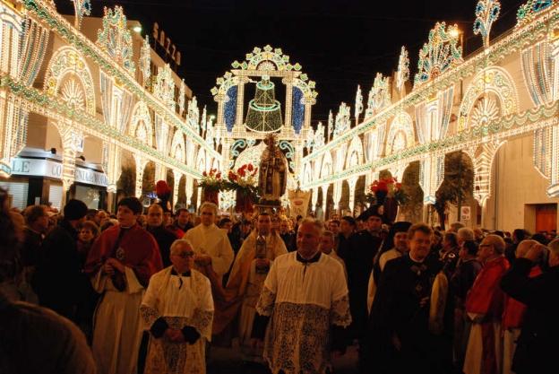 Fòcara in Novoli (Lecce): Sant'Antonio Abate Feast Day